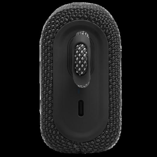 JBL GO 3 - Black - Portable Waterproof Speaker - Left
