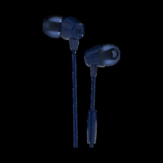 JBL C50HI - Blue - In-Ear Headphones - Hero