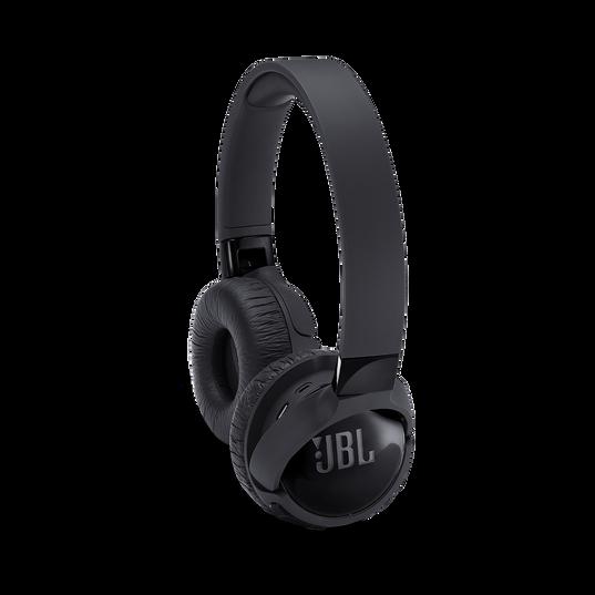 JBL TUNE 600BTNC - Black - Wireless, on-ear, active noise-cancelling headphones. - Detailshot 1