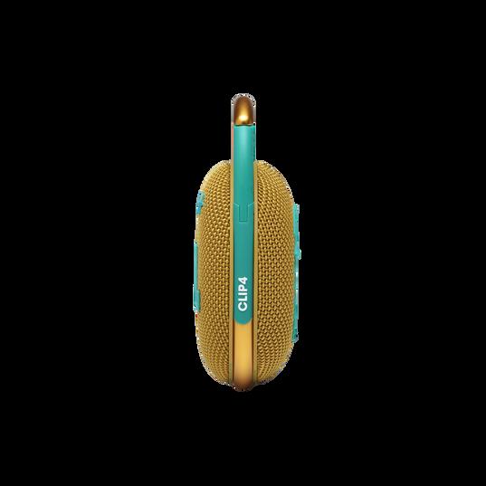 JBL CLIP 4 - Yellow - Ultra-portable Waterproof Speaker - Right