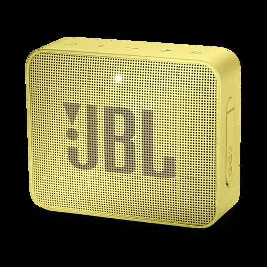 JBL GO 2 - Lemonade Yellow - Portable Bluetooth speaker - Hero