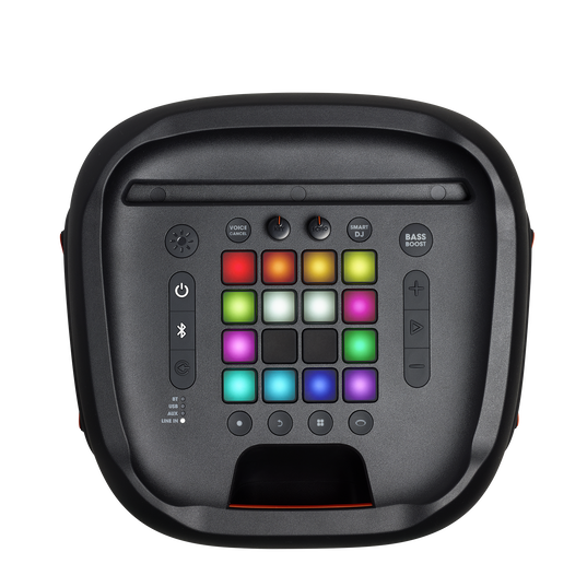 JBL PartyBox 1000 - Black - Powerful Bluetooth party speaker with full panel light effects - Detailshot 5