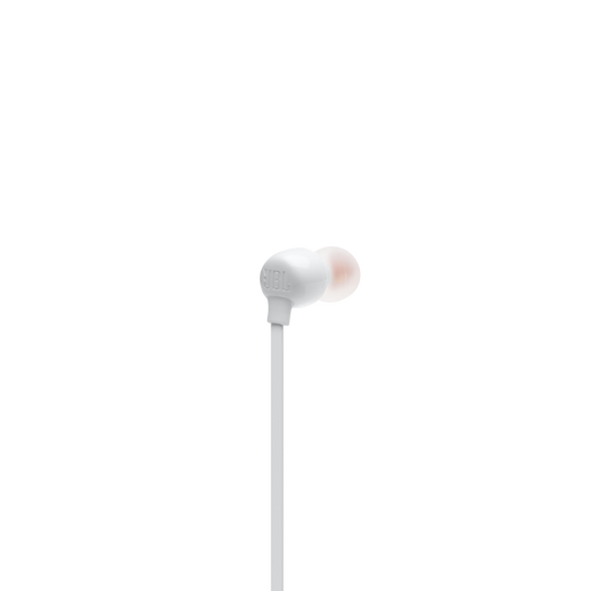 JBL TUNE 115BT - White - Wireless In-Ear headphones - Back