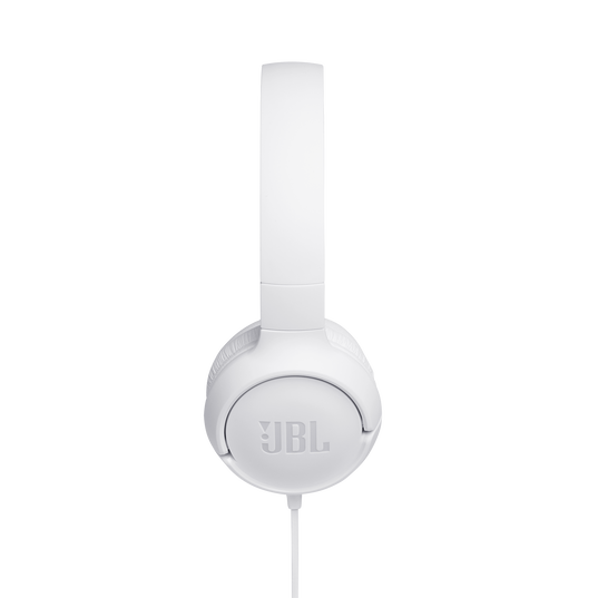 JBL TUNE 500 - White - Wired on-ear headphones - Detailshot 2