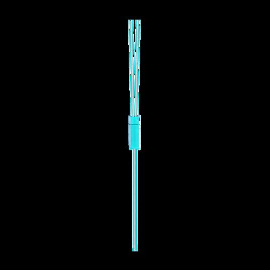 Reflect Mini - Teal - Lightweight, in-ear sport headphones - Detailshot 15