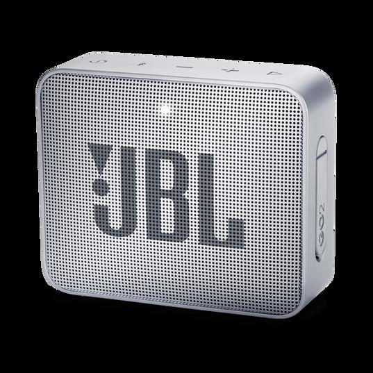 JBL GO 2 - Ash Gray - Portable Bluetooth speaker - Hero
