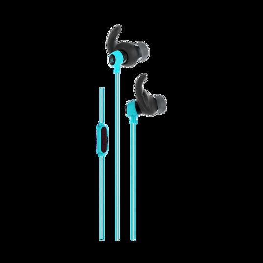 Reflect Mini - Teal - Lightweight, in-ear sport headphones - Hero