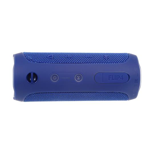 JBL Flip 4 - Blue - A full-featured waterproof portable Bluetooth speaker with surprisingly powerful sound. - Detailshot 15