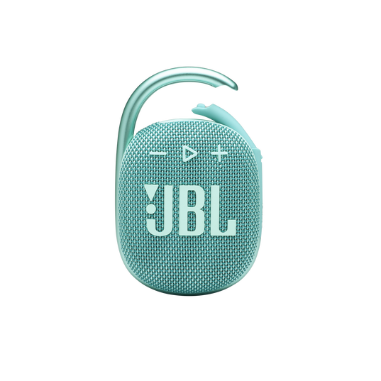 JBL CLIP 4 - Teal - Ultra-portable Waterproof Speaker - Front