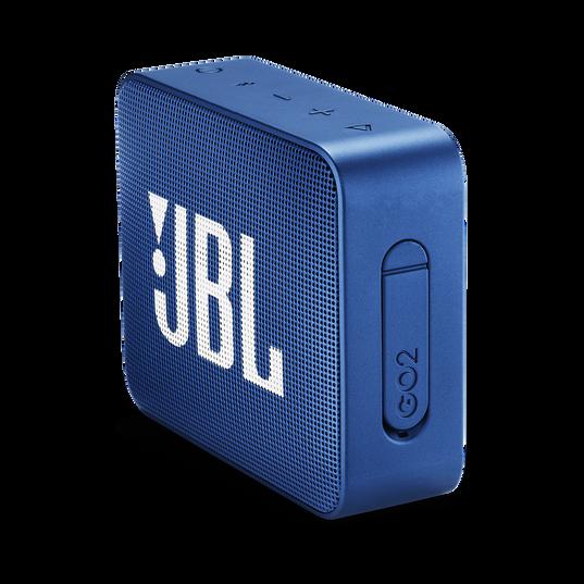 JBL GO 2 - Blue - Portable Bluetooth speaker - Detailshot 2