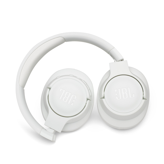 JBL TUNE 750BTNC - White - Wireless Over-Ear ANC Headphones - Detailshot 1