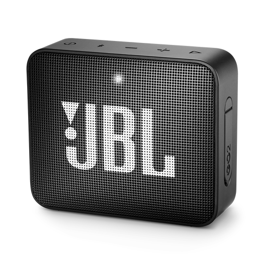 JBL GO 2 - Black - Portable Bluetooth speaker - Hero