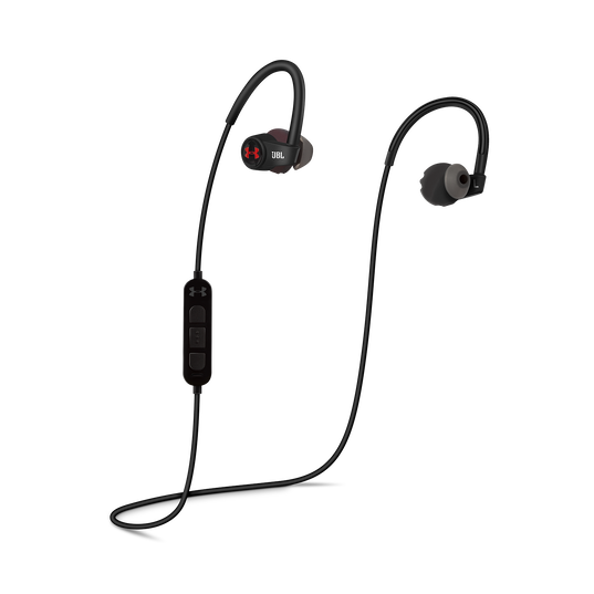 Under Armour Sport Wireless Heart Rate - Black - Heart rate monitoring, wireless in-ear headphones for athletes - Detailshot 1