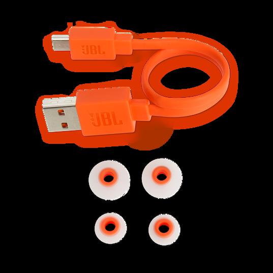JBL TUNE 110BT - Pink - Wireless in-ear headphones - Detailshot 4