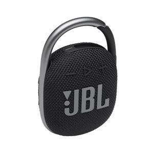 JBL CLIP 4 - Black - Ultra-portable Waterproof Speaker - Hero