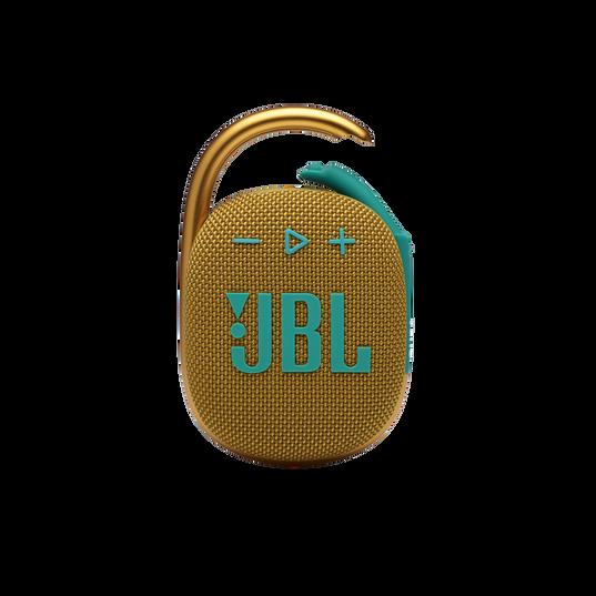JBL CLIP 4 - Yellow - Ultra-portable Waterproof Speaker - Front